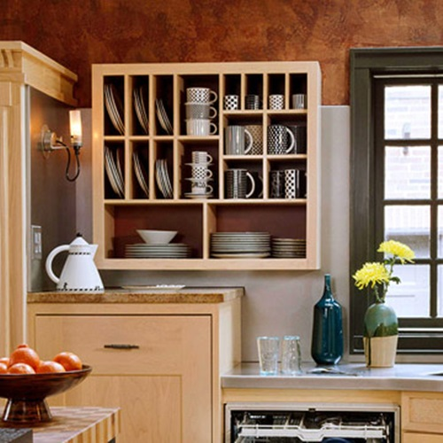 Kitchen Pantry Cabinet Organization Ideas Plate Rack Shelf: Kitchen Utensils Creative Storage Solutions