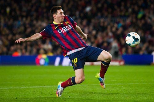Lionel Messi Top Ten Best Goals For Season 13-14