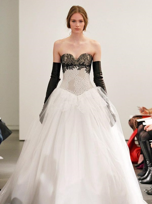 Top Ten Most Catchy Western Wadding Dress Design For 2014