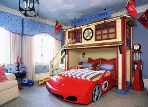 VARIOUS AFFORDING IDEAS & ADVICES TO FURNISH A KIDS ROOM