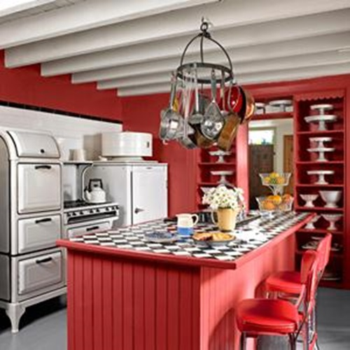 Wonderful Kitchen Decorating Ideas with Apple Theme ...