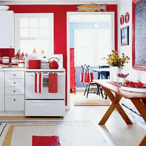 Wonderful Kitchen Decorating Ideas with Apple Theme