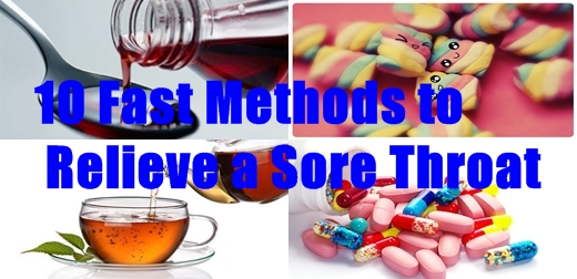 10 Fast Methods to Relieve a Sore Throat