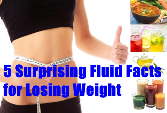 5 Surprising Fluid Facts for Losing Weight