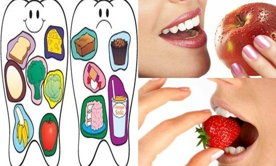 Ten Super Foods For Healthy Teeth
