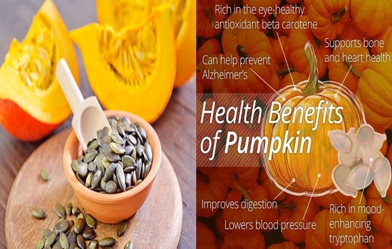 Amazing Health Benefits of Pumpkin