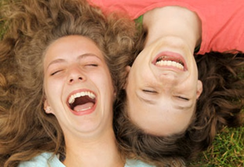 Laughter can be helpful against stress and memory loss in old age