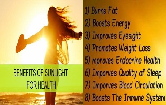 Benefits of Sunlight