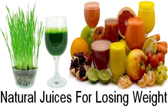 Natural Juices For Losing Weight