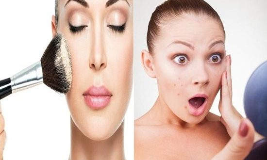 Problems faced by women who wear makeup