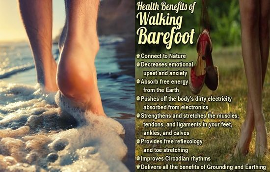 Photo of Surprising Health Benefits of Walking Barefoot