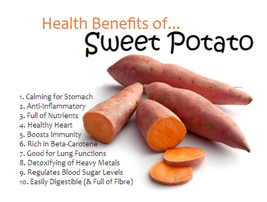 8 Healthy Reasons To Eat Sweet Potatoes More Often