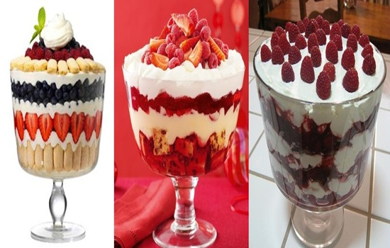Delicious Desert Recipe For Diabetics, English Trifle