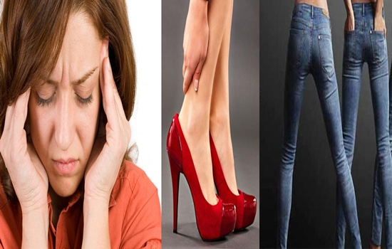 Fashion Items That Affect Your Health Negatively