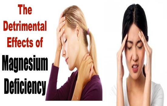 Magnesium Deficiency Do To Your Body
