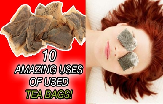 Photo of Don't Dispose of Used Tea Bags and Benefit from Their Astonishing Uses