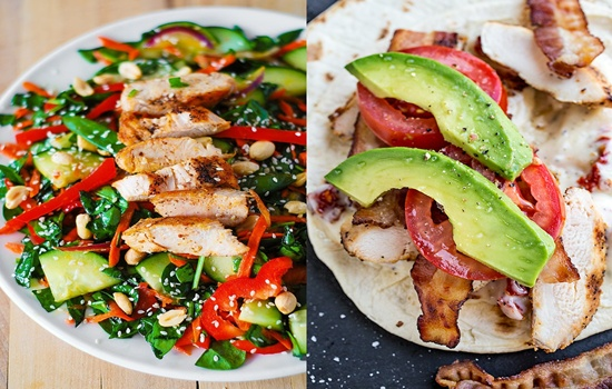 Healthy Lunch Ideas Ingredients Only