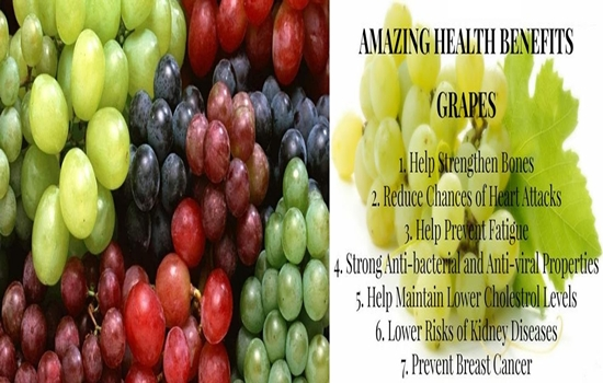 Photo of 10 Health Benefits Of Grapes That Will Make You Want to Eat Them Now