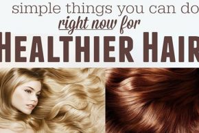 6 simple tips for a healthy hair