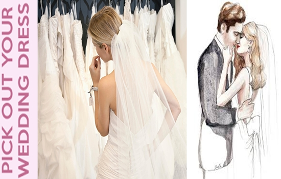 Photo of Choosing your wedding dress