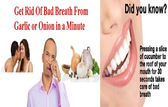 Natural Remedies for Annoyingly Stubborn Bad Breath