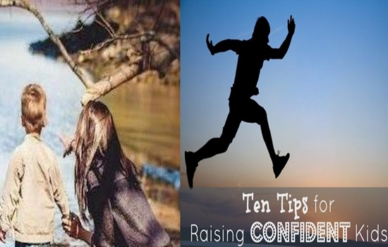 Photo of SOME TIPS TO HELP YOU RAISE A MORE CONFIDENT CHILD