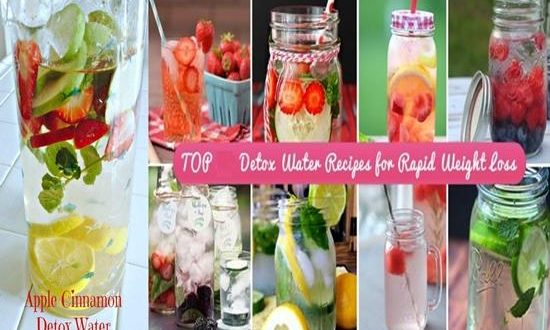 Recipes for Flavored Water That Can Detox Your Body