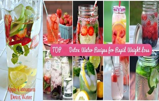 Photo of 5 Great Recipes for Flavored Water That Can Detox Your Body