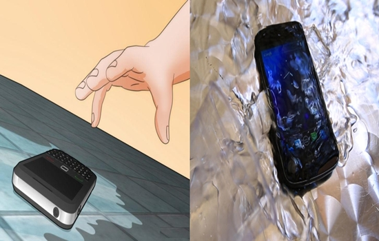Photo of Salvage Your Mobile Phone after Falling in Water in 8 Steps