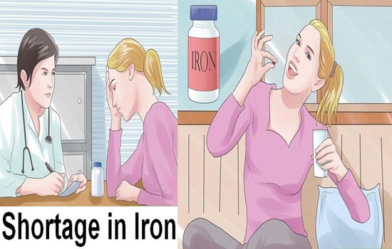 Photo of 5 Symptoms That Will Tell You That You Have a Shortage in Iron