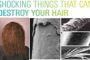 Things You Never Knew Can Destroy your Hair
