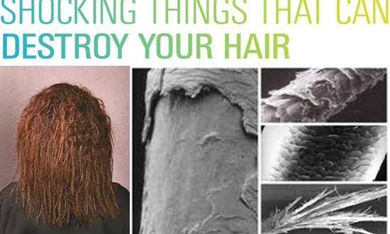 Things You Never Knew Can Destroy Dour Hair