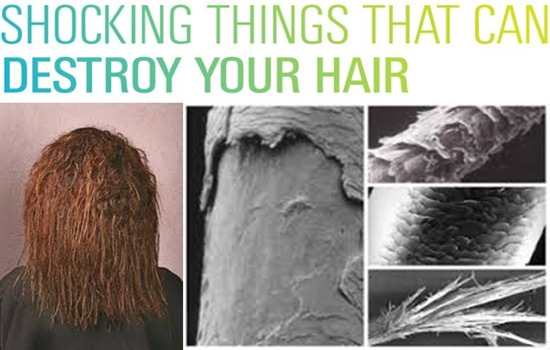 Photo of Things You Never Knew Can Destroy your Hair