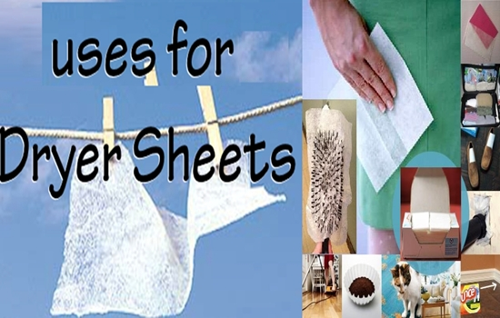 Use Dryer Sheets for