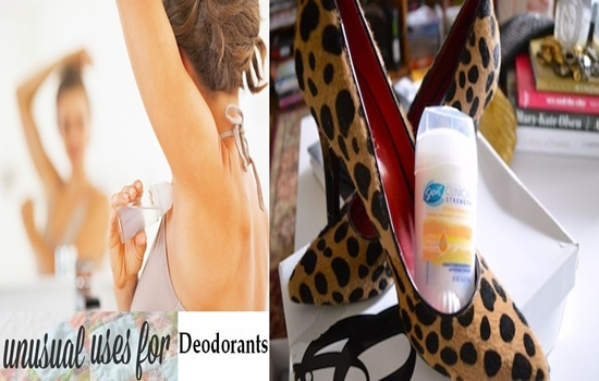 Unusual-But-Amazing Uses for Deodorants