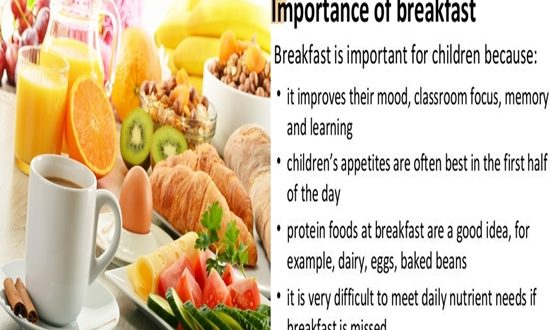 BREAFAST IS IMPORTANT