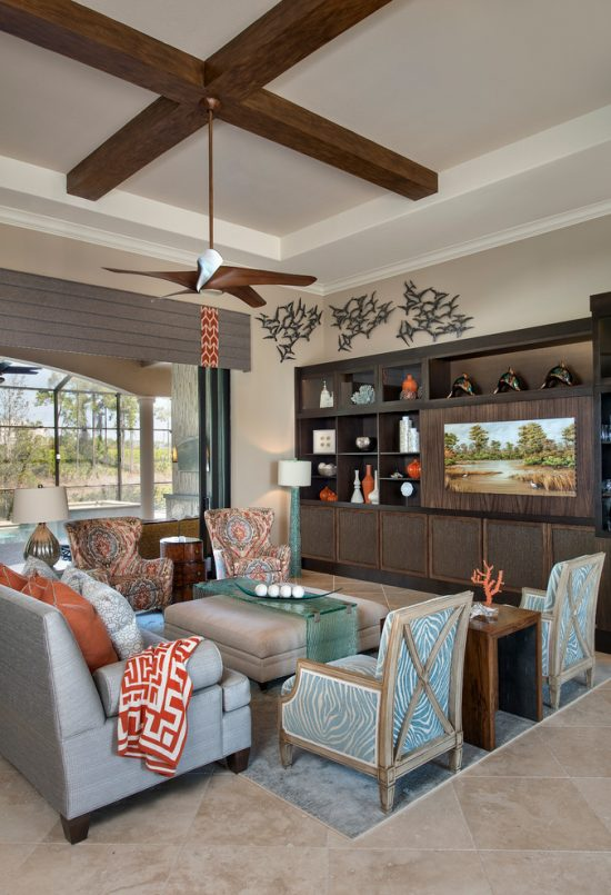 "Breezy Beach Living Room Decorating Ideas for the New Year of ""2016"""