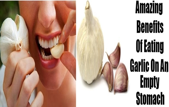 Eat raw garlic on an empty stomach to get these amazing benefits!
