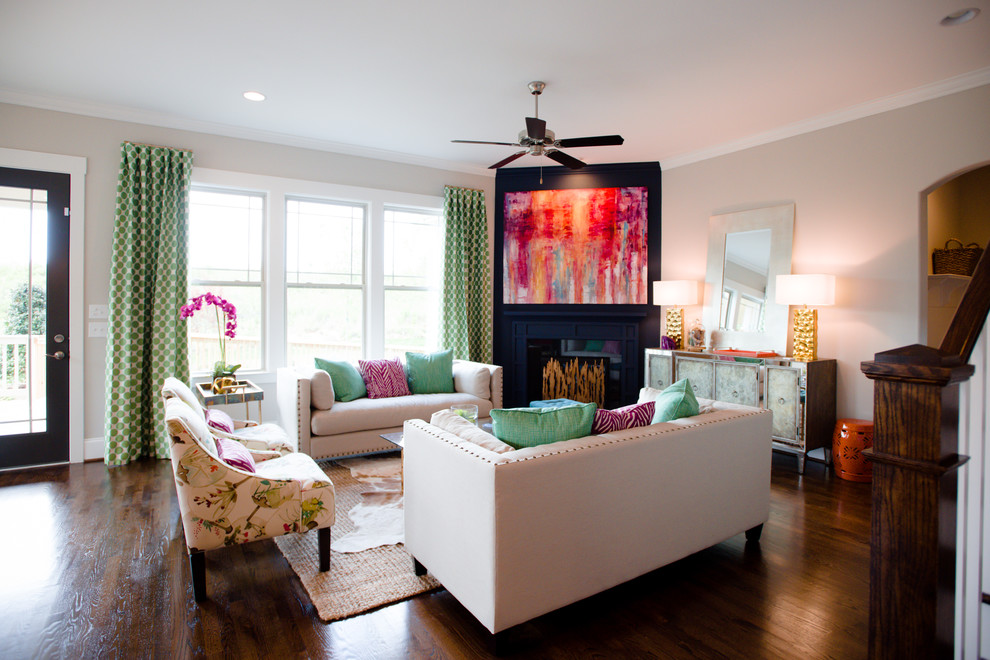 Photo of Enhance your living room interior design with the warmth and beauty of greens