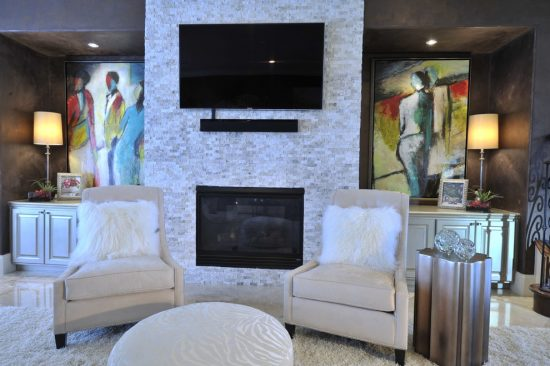 Enhance your modern 2016 home with a wall mount for flat screen TV