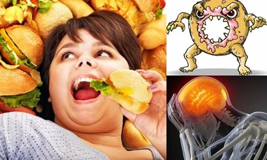 FATTY FOODS COULD DAMAGE YOUR BRAIN