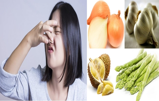 Photo of The Types of Food That Can Give You Unpleasant Smell