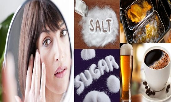Food That Make Your Skin Deteriorate Faster