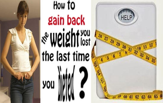 Photo of 4 Reasons Why You Gain Back the Weight You Lose After Weight Loss Diets