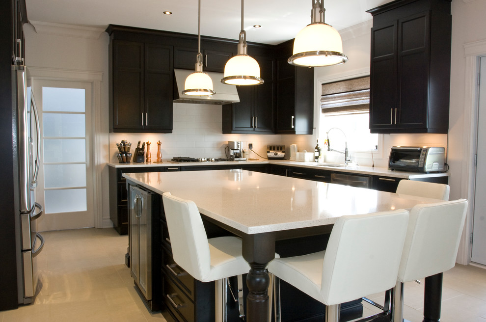 Photo of Get a trendy 2016 minimalist black and white kitchen to enhance its beauty and functionality