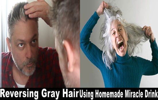 Photo of Get rid of gray hair with this amazing homemade drink!