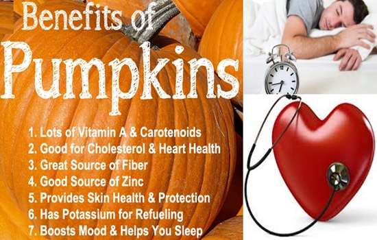 Photo of ARE YOU FAMILIAR WITH THE HEALTH BENEFITS OF PUMPKINS?