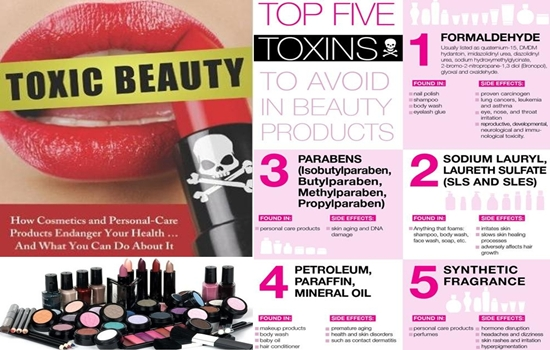 Photo of 5 Hazardous Chemicals Found in Your Cosmetics and Body Care Products