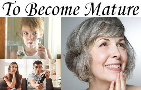 Photo of How To Become Mature