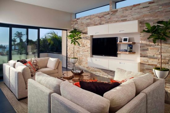 How to create your own minimalist modern living room as a cozy oasis